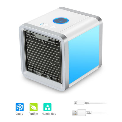 Portable Air Conditioner, 4 in 1 Mini USB Personal Space Air Cooler, Humidifier and Purifier-ArkarTech