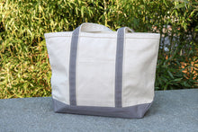 Load image into Gallery viewer, The Canvas Boat Tote (Medium)