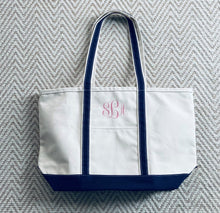 Load image into Gallery viewer, The Canvas Boat Tote (Large)