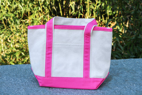 Canvas Boat Tote (Mini)