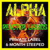 Alpha E-Liquid - Private Label, 6 Month Steeped