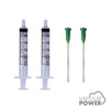 2.0 ml Syringe/Blunt nic. Kit
