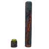 Purge Truck With Stack and Cap Set - Orange Splatter