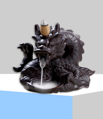 "Porte Encens Dragon <br> ""Traditionnel"" - Zen-Plénitude-Shop"