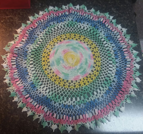 Multi Color Doily