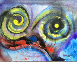 "Original Acrylic ""Clown Pug"""