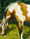 Painted Horse Acrylic Painting