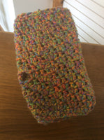 Crochet fingerless gloves assorted colors