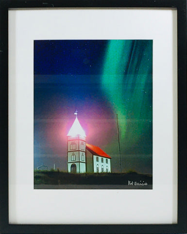 Digital Church photo framed