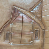 Stearns County Barn Tooled Leatherwork