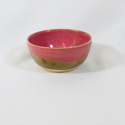 Pink Brown Small Bowl