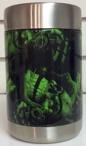 Ozark Trail custom hydrodipped can/sasparella cooler Green Skull Revolver