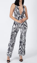 Load image into Gallery viewer, Deep V Jumpsuit