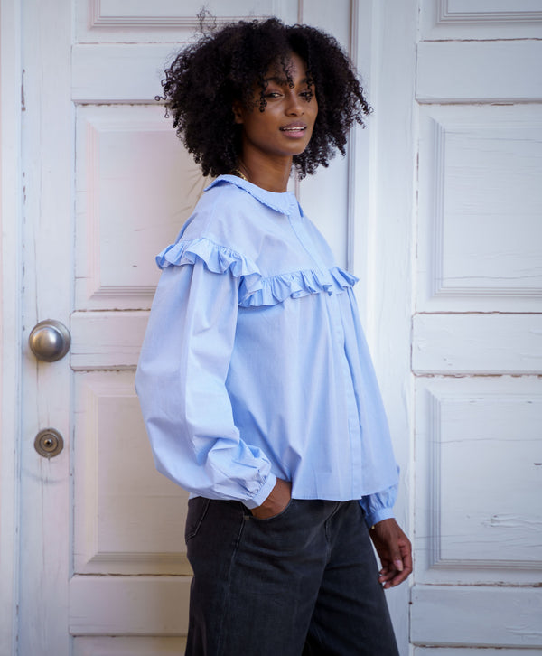 Oversized Classic Pleats Shirt