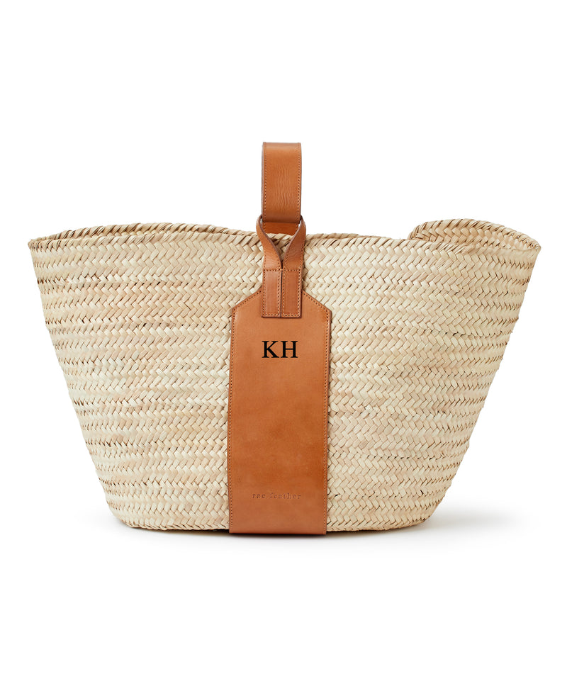Grace Monogram Basket