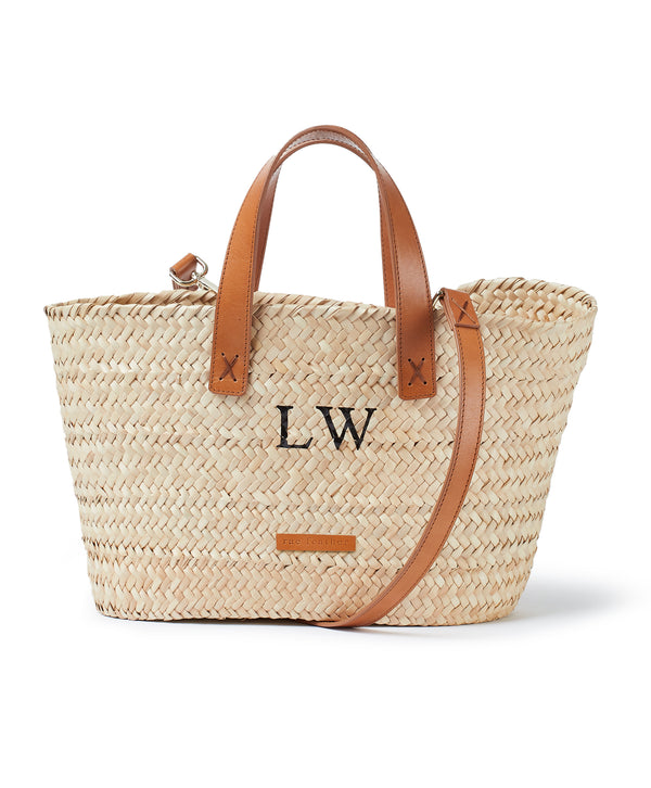 Lucy Monogram Basket