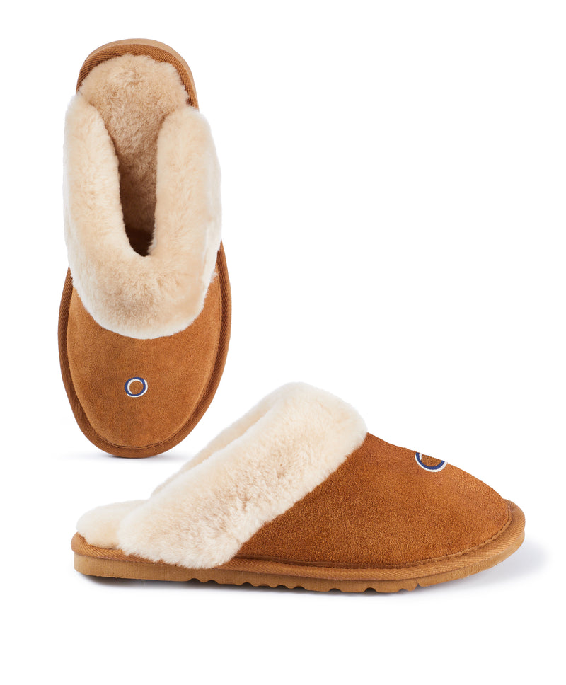 Monogram Womens Slip On Slippers