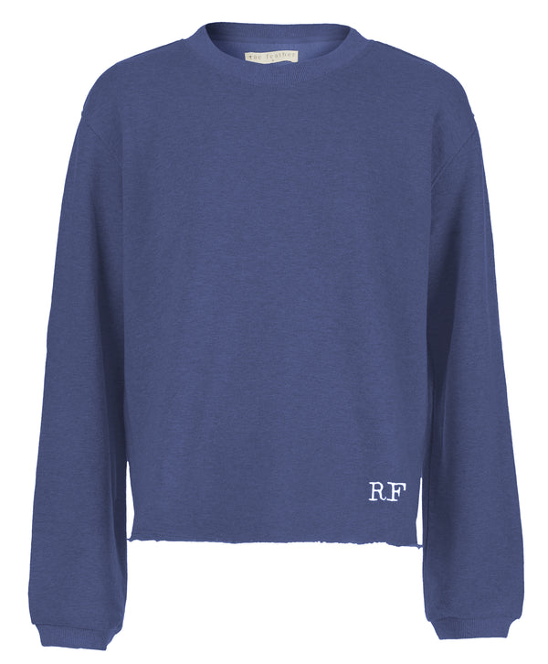 Phoebe Sweatshirt Blue Monogram