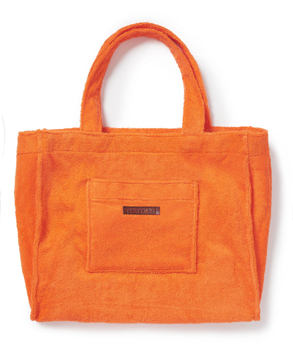 Towelling Bag Orange
