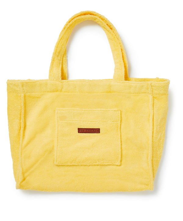 Towelling Bag Yellow