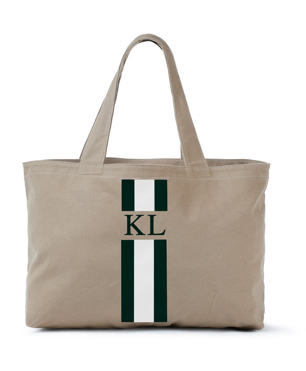 Hand Painted Monogram Rae Tote