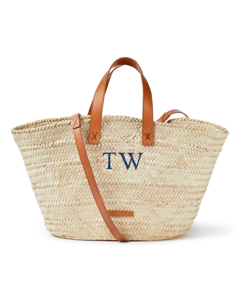 Stella Monogram Basket
