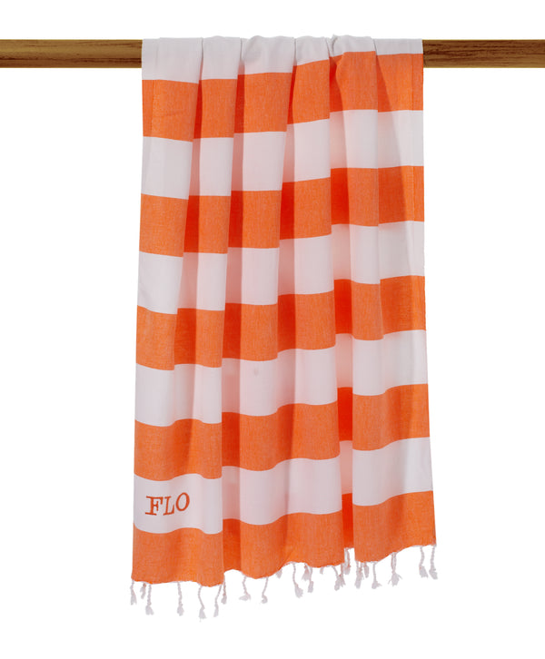 Wide Stripe Hammam Towel