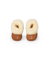 Monogram Baby Sheepskin Slippers