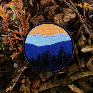 Sunset Mountains Patch