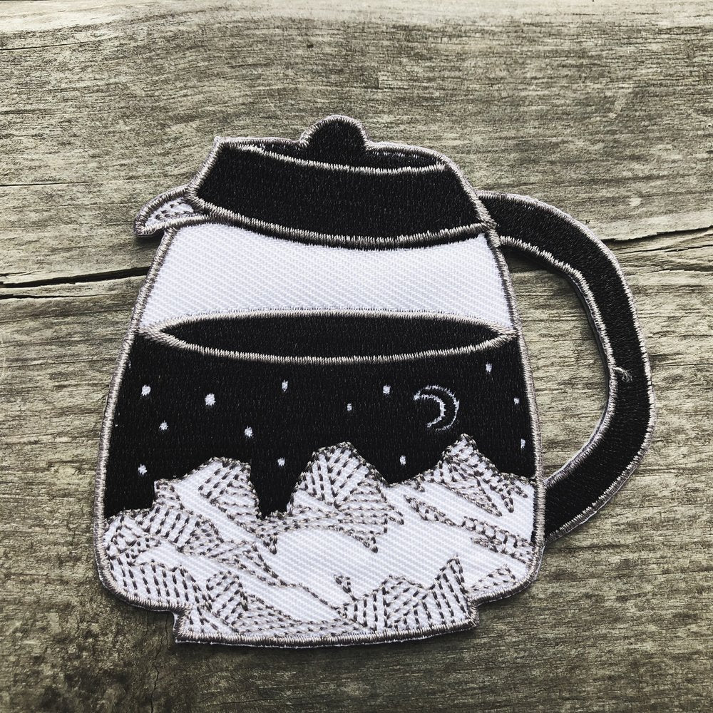 Coffee Maker Percolator Patch