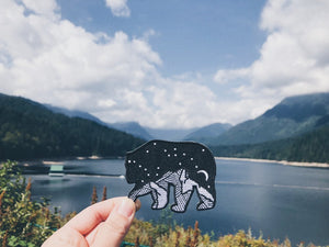 Starry Night Bear Patch
