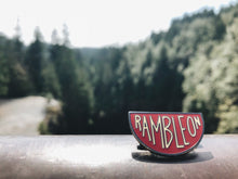 Load image into Gallery viewer, Ramble On Enamel Pin