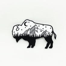 Load image into Gallery viewer, Starry Night Buffalo Patch