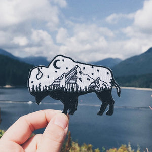 Starry Night Buffalo Patch