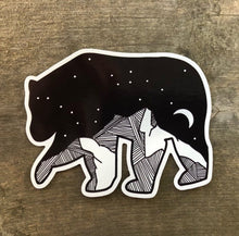 Load image into Gallery viewer, Bear Vinyl Sticker