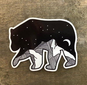 Bear Vinyl Sticker