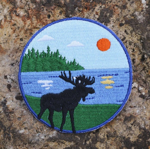 Moose on the Lake Patch