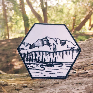Hexagon Mountain Patch