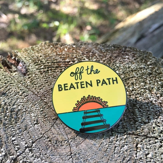 Off the Beaten Path Pin