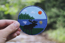 Load image into Gallery viewer, Moose on the Lake Patch