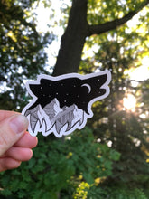 Load image into Gallery viewer, Howling Wolf Vinyl Sticker