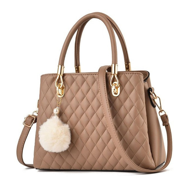 Hebe Leather Handbag