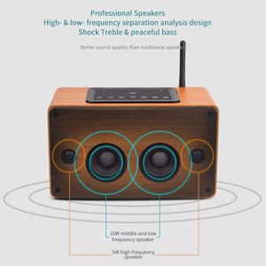 August WS350 – 30W Wi-Fi / Bluetooth Lautsprecher –Multiroom WLAN-Speaker (DLNA, NFC, LAN, 15h Akku) - Daffodil Germany GmbH