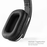 AUGUST EP650B Bluetooth Wireless Over-Ear Kopfhörer mit aptX LL + BAG650 Case - Daffodil Germany GmbH