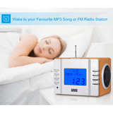 August MB300 - Radiowecker - MP3 Player / Stereoanlage - Uhrenradio - Daffodil Germany GmbH