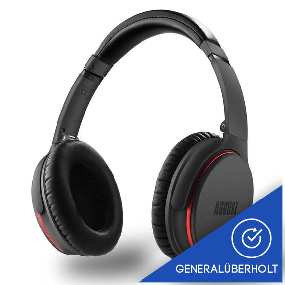 (generalüberholt) August EP735 - Active Noise Cancelling Kopfhörer mit Bluetooth v4.1 - Daffodil Germany GmbH