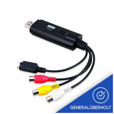 (generalüberholt) August VGB100 – USB 2.0 Audio Video Grabber – Scart, S-Video, Composite - Daffodil Germany GmbH