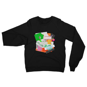 Sticker Raglan Sweatshirt