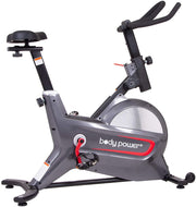 Body Power ERG8000 Deluxe Indoor Cycle Trainer with Curve-Crank Technology - body flex sports