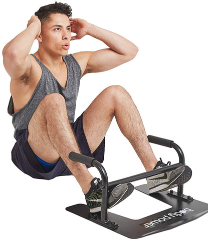 Body Power PL2000 Under Door Multifunction Trainer Parallettes - Body Flex Sports